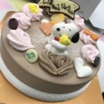 誕生日はアイスケーキで